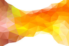 Abstract polygon.background. Vector illustration Royalty Free Stock Photos