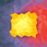 Abstract polygon background Stock Image