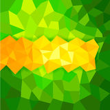 Abstract polygon background Royalty Free Stock Photography