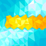 Abstract polygon background Stock Photos