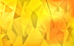 Abstract polygon background. Abstract  polygon background in warm colours Stock Photos