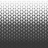 Abstract polygon black and cyan graphic triangle pattern. Vector polygon black and white triangle background royalty free illustration