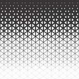 Abstract polygon black and white graphic triangle pattern. Vector black and white polygon royalty free illustration