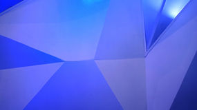 Abstract polygon blue background Royalty Free Stock Photography
