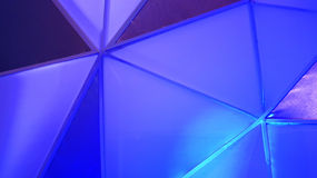 Abstract polygon blue background Royalty Free Stock Image