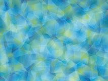 Background. Abstract polygon blue-yellow background Royalty Free Stock Photos