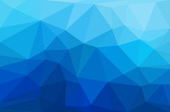 Abstract polygon geometric background. Stock Photography