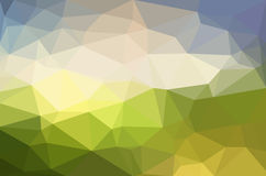 Abstract polygon geometric background. Royalty Free Stock Images