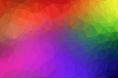 Abstract polygon geometric background. Royalty Free Stock Photography