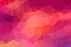 Abstract polygon geometric background. Vector and illustration Royalty Free Stock Image