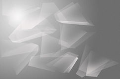 Abstract polygon gray. For background Royalty Free Stock Photo