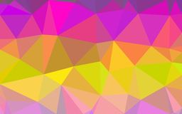 Abstract polygon pattern background Stock Image