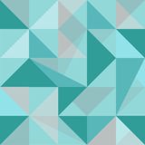 Abstract polygon seamless pattern Royalty Free Stock Images