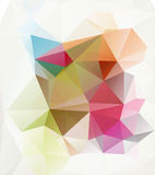 Abstract polygon triangle background Stock Images