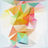 Abstract polygon triangle background Royalty Free Stock Photos