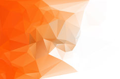 Abstract polygon triangle background stock illustration
