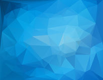 Abstract polygon triangle background Royalty Free Stock Image