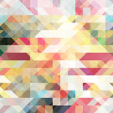 Abstract polygonal background colorful spring palette stock illustration