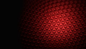 Abstract polygonal background. Concept rendered Royalty Free Stock Images