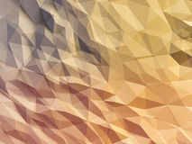 Abstract polygonal background. Abstract polygonal crystal 3d connection triangle geometric background Royalty Free Stock Photo