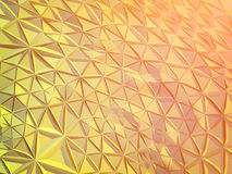 Abstract polygonal background. Abstract polygonal crystal 3d connection triangle geometric background Royalty Free Stock Photography