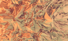 Abstract polygonal background. Abstract polygonal crystal 3d triangle geometric background vector illustration