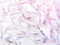 Abstract polygonal background. Abstract polygonal crystal 3d triangle geometric background royalty free illustration