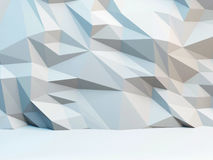 Abstract polygonal background. 3d image. Abstract polygonal background. 3d illustration Royalty Free Stock Photo