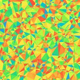 Abstract Polygonal Background of Different Colors for Universal. Application. Vibrant Graphic Texture of Asymmetric Triangles stock illustration