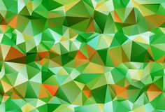Abstract polygonal background. The effect of broken glass Stock Photo