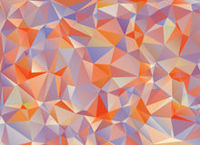 Abstract polygonal background. The effect of broken glass Stock Images