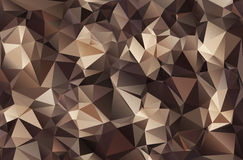 Abstract polygonal background. The effect of broken glass Royalty Free Stock Photo