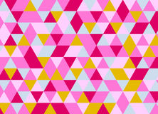 Abstract polygonal background. Geometric pattern. Vector  Royalty Free Stock Photography