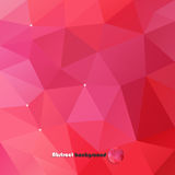 Abstract polygonal background Stock Photography