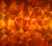 Abstract polygonal background. Triangles . Saturated contrasting elements .  Illustration. . Stock Image