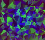 Abstract polygonal background. Triangles . Saturated contrasting elements .  Illustration. . Abstract polygonal background. Triangles . Saturated contrasting Stock Images