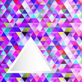 Abstract polygonal background triangles with space for text Royalty Free Stock Photography