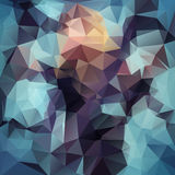 Abstract polygonal background. Royalty Free Stock Photos
