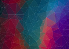 Abstract polygonal background Royalty Free Stock Images