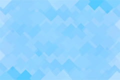 Abstract polygonal blue squares. Abstract polygonal picture made of blue squares as background Stock Photography