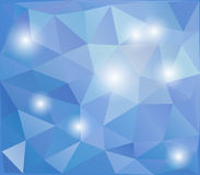 Abstract polygonal design background Stock Image