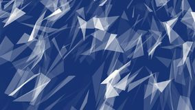 Abstract modern Polygonal Geometric Triangle Background. royalty free illustration