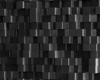 Abstract black polygonal geometric cube background Royalty Free Stock Images