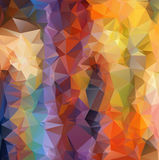 abstract polygonal illustration. Stock Images