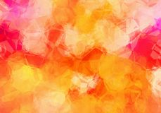 Abstract polygonal background texture Royalty Free Stock Images
