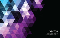 Abstract polygonal mosaic background. Royalty Free Stock Photography