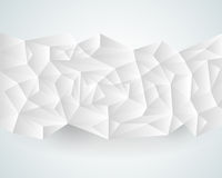 Abstract polygonal paper background Royalty Free Stock Image