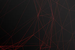 Free Abstract Polygonal Space Low Poly Dark Background With Connecting Dots And Lines. Connection Structure, Shine Effects Stock Photography - 88350782