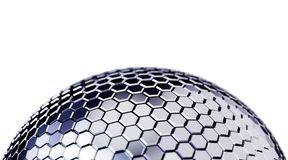 Abstract Polygonal Sphere Background Stock Photography