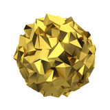 Abstract polygonal sphere Royalty Free Stock Image